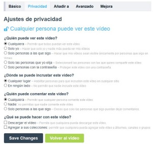 Your Technology Blog - Post videos on the Internet - VIMEO privacy
