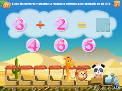 Educational applications to get started with mathematics
