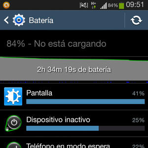 The most common faults: battery failures - Your Tech Blog - picture of battery settings on Android