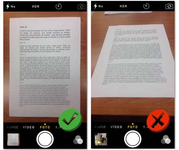 Digital document processing: the camera as a scanner